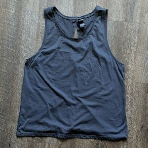 Victoria Sport Knock Out Gym Tank Top Tie Back